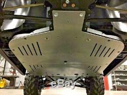 2017 Polaris Ranger 1000 3/16 Aluminum Skid Plate Heavy Duty USA Made