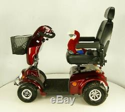 2018 Freerider City Ranger 8 LJ804 Electric Mobility Scooter 8mph Red