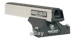 2 Bar Rhino Roof Rack for FORD Ranger Wildtrak PX Tray Mount 06/12on JA8873