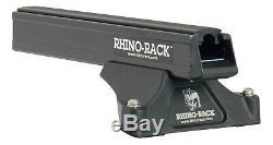 2 Bar Rhino Roof Rack for FORD Ranger Wildtrak PX Tray Mount 06/12on JA8874