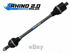 2pc Polaris Ranger XP 1000/XP 900/ XP 570 Heavy Duty Axles Rhino 2.0 (pair)