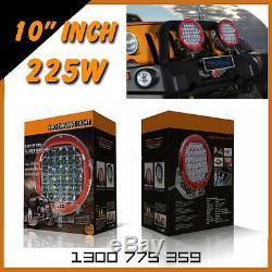 2x LED Work Lights 225w Heavy Duty CREE 12/24v AAA+