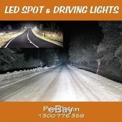 2x pcs LED Work Lights 185w Heavy Duty AAA+ CREE 12/24v Beware of Fakes