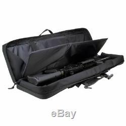 3V GEAR RANGER 36 or 42 PADDED DOUBLE GUNCASE HEAVY DUTY LIGHTWEIGHT RIFLE BAG