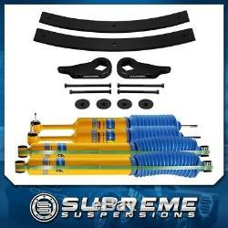 3 Front + 2 Rear Level Lift Kit 98-11 Ford Ranger + Bilstein Shocks 4X4 PRO