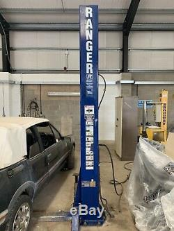 4 Ton 2 Post 3 Phase Vehicle Lift Car Ramp Ranger Bendpak Excellent Condition