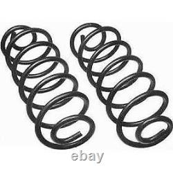 8646 Moog Set of 2 Coil Springs Front New for F250 Truck F350 Ford F-250 Pair