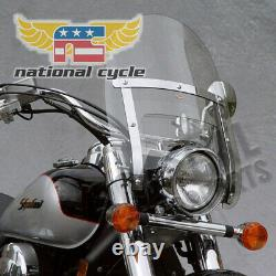 93-05 HARLEY FXDL National Cycle Heavy Duty Narrow Frame Ranger Windshield