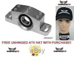 BUNDLE 2 ITEMS SuperATV Heavy Duty Polaris Ranger Carrier Bearing and FREE HAT