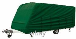 Bailey Ranger 460/4 2007 Heavy Duty Caravan Cover Green 4ply