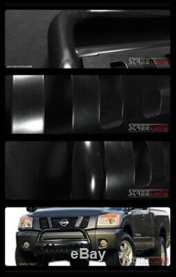 Black Heavyduty Steel Bull Bar Brush Bumper Grille Guard For 98-11 Ford Ranger