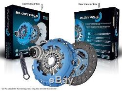 Blusteele HEAVY DUTY Clutch Kit for Ford Ranger PK 3.0 Ltr 3.0 MZR-CD suits DMR