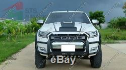 Bull Bar Nudge/grille Guard Heavy Duty Ford Ranger T6 Mc/t7 2015-2019 V6