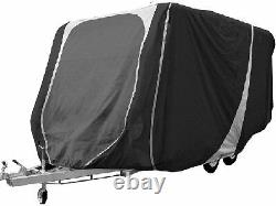 Caravan Cover 17 to 19ft Heavy Duty Breathable Charcoal Grey 3 ply Streetwize