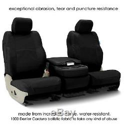 Coverking Cordura Ballistic Heavy Duty Front Custom Seat Covers for Ford Ranger