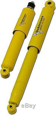 DOBINSONS SHOCK PAIR HEAVY DUTY FRONT for MAZDA BT50 for FORD RANGER 2011-ON