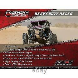 Demon Heavy-Duty Left or Right Rear Axle for Polaris Ranger 500 18-19