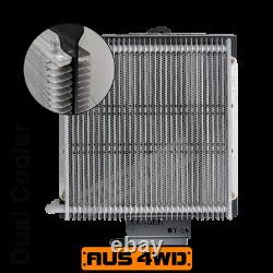 Dual Heavy Duty Transmission Oil Cooler Kit Ford Ranger with 10R80 10 Speed
