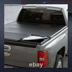 For 1983-2011 Ranger/1994+ B-Series 6/72' Bed Snap-On Tonneau Cover+LED Lights