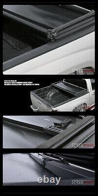 For 83-11 Ranger/94+ Mazda B-Series B2300 B2500 6' Tri-Fold Vinyl Tonneau Cover