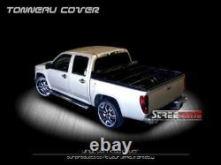 For 83+ Ranger/94+ Mazda B-Series B2300 B2500 6' Hidden Snap Vinyl Tonneau Cover