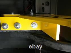 Ford Ranger 2012 2021 Recovery Point Kit Heavy Duty Yellow Right Side T6 T7