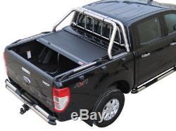 Ford Ranger 2012 On Xl/xlt/limited DC New Tessera Heavy Duty Roller Shutter
