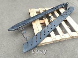 Ford Ranger Mk3 T6 Double Cab Pair Of Heavy Duty Steel Side Steps 2011 2021