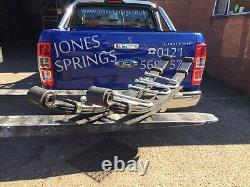 Ford Ranger Rear Leaf Springs Heavy Duty 7 Leaf 2012 On New Shape