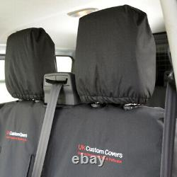 Ford Ranger T6 Wildtrak (16-18) Heavy Duty Seat Covers Inc Embroidery 304 305 Em