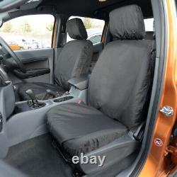 Ford Ranger T6 Wildtrak (2016-18) Heavy Duty Front Rear Seat Covers 304 305 B