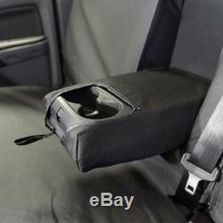 Ford Ranger Waterproof Heavy Duty Front & Rear Seat Covers Black 153 154 Hd