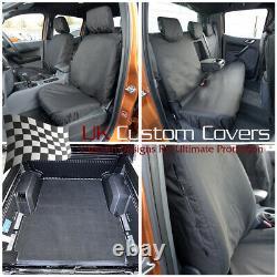 Ford Ranger Wildtrak Heavy Duty Front Rear Seat Covers & Trunk Liner 246 304 305