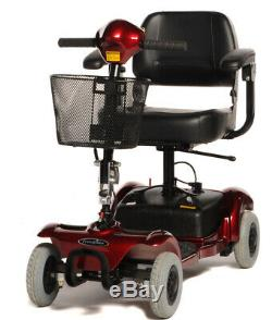 Freerider Mini Ranger 4mph Portable Folding Travel Car Boot Mobility Scooter