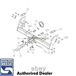 HAYMAN REESE TOWBAR KIT to suit FORD RANGER PX TUB 10/2011-08/2015 HEAVY DUTY