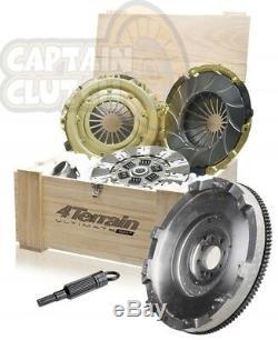 HEAVY DUTY 4Terrain Clutch Kit Flywheel for FORD RANGER PJ 2.5L & 3.0LTR MZR-CD
