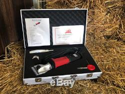 Heavy Duty Horse Clipper Trimmer Clipping Combo by Masterclip Ranger Showmate