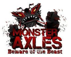 Heavy Duty Monster Pair of Front Axles for Polaris Ranger 500 4x4 11-13 1332690