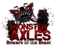 Heavy Duty Monster Set of Axles for Polaris, Ranger XP 800/Crew 800, 1332856