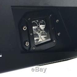 Heavy-Duty Replacement Steel Bumper with LED lights for Ford Ranger 2012+