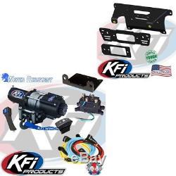 Heavy Duty Winch 4500lb with Mount Kit Polaris Ranger XP900 XP 900 13-18
