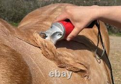Horse Cob Clipper Heavy Duty by Masterclip UK 2 Year Warranty Red Blue or Green