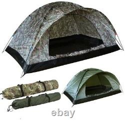 KombatUK 2 Person Strong Tough Lightweight Compact One Layer Ranger Camping Tent