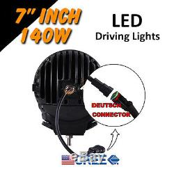 LED Driving Lights 2x 140w 7 Heavy Duty CREE 12/24v AAA+ 2015 AWESOME