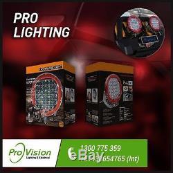 LED Driving Lights 2x 185w Heavy Duty CREE 4WD 9-32v AAA+ BEWARE of FAKES