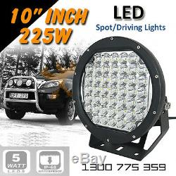 LED Driving Lights 2x 225w 9 Heavy Duty CREE 12/24v AAA+ AWESOME
