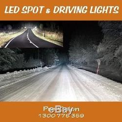 LED Driving Lights 2x pieces 185w HeavyDuty CREE 4WD 9-32v BEWARE of FAKES