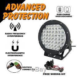 LED Driving Lights 4x 225w Heavy Duty CREE 12/24v Brightest on the Market Today