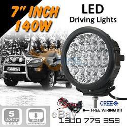 LED Spot Lights 2x 140w 7 Heavy Duty CREE 12/24v AAA+ 2015 Professional Grade