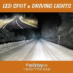 LED Spot Lights 2x 225w 9 Heavy Duty CREE 12/24v AAA+ AWESOME
